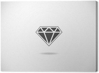 Tableau sur Toile Diamant