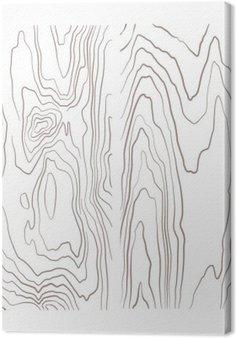 Tableau sur Toile Divers bois monochrome collection de texture illustration.