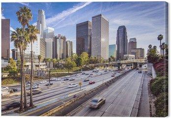 Tableau sur Toile Downtown Los Angeles, en Californie Cityscape