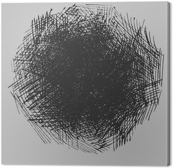 Tableau sur Toile Éclosion rugueux dessin texture