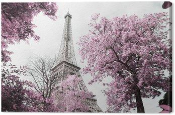 Tableau sur Toile Eiffel tower
