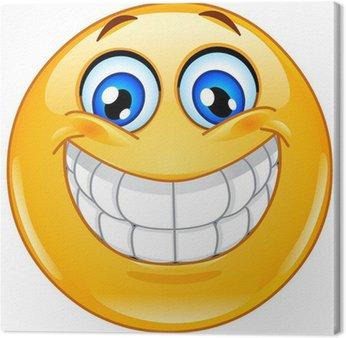 Tableau sur Toile Émoticône sourire