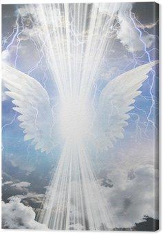 Tableau sur Toile Être angélique obscurci