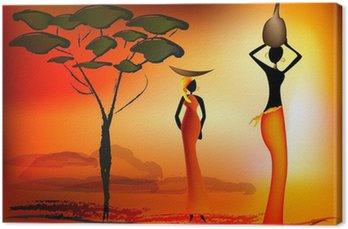 Tableau sur Toile Femmes africaines