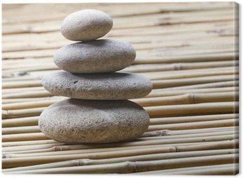 Tableau sur Toile Feng shui pierres