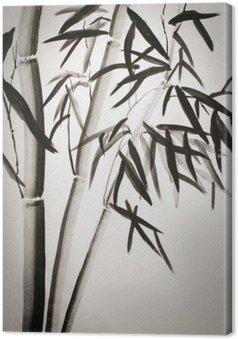 Tableau sur Toile Feuilles de bambou
