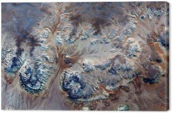 Tableau sur Toile Fleurs sous-marines allégorie, plante Pierre imaginaire, abstrait Naturalisme, résumé photographie déserts de l'Afrique de l'air, le surréalisme abstrait, mirage, formes fantastiques dans le désert, les plantes, les fleurs, les feuilles,