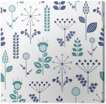 Tableau sur Toile Floral nordique