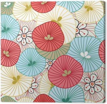 Tableau sur Toile Flower background