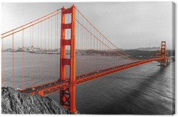 Tableau sur Toile Golden Gate, San Francisco, Californie, USA.