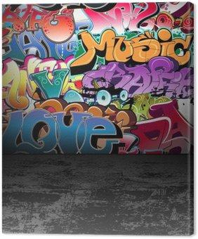Tableau sur Toile Graffiti wall art urbain peinture