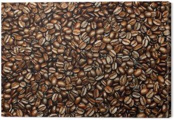 Tableau sur Toile Grains de café frais
