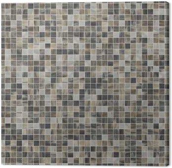 Tableau sur Toile Grande seamless texture carré de carreaux de mosaïque 07