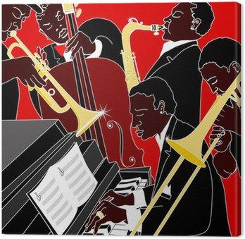 Tableau sur Toile Groupe de jazz