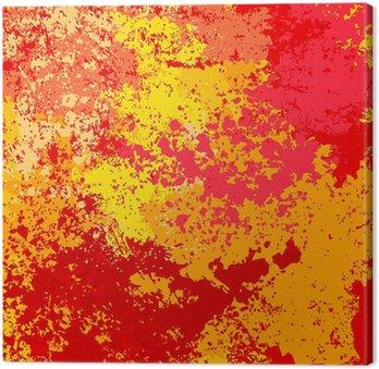 Tableau sur Toile Grunge fond de couleurs vives