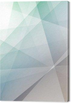 Tableau sur Toile Hipster fond géométrique transparent moderne