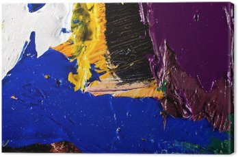 Tableau sur Toile Illustration peinture abstraite de fond