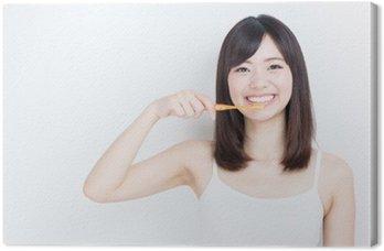 Tableau sur Toile Image attractive de la beauté de la femme asiatique