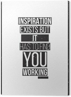 Tableau sur Toile Inspiration existe mais il doit vous trouver de travail. Pablo Picass