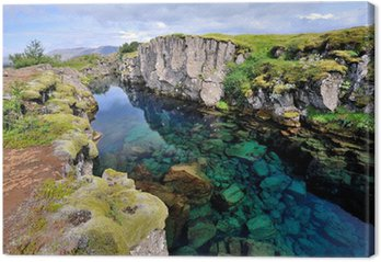 Tableau sur Toile Islande - Parc National de Thingvellir