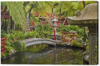 Tableau sur Toile Jardin oriental