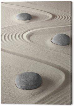 Tableau sur Toile Jardin zen