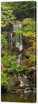 Tableau sur Toile Jardins japonais Cascade à Portland, Oregon