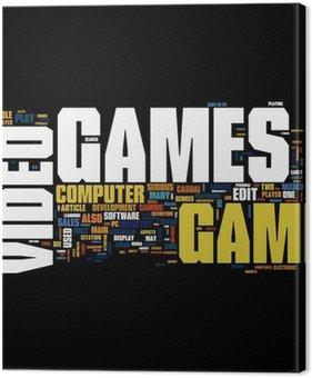 Tableau sur Toile Jeux video