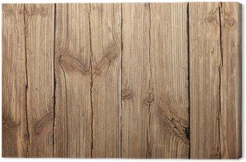 Tableau sur Toile La texture du bois avec des motifs naturels
