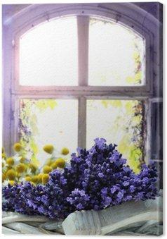 Tableau sur Toile Lavendel