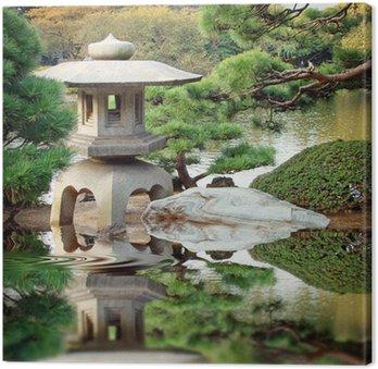 Tableau sur Toile Le Jardin japonais