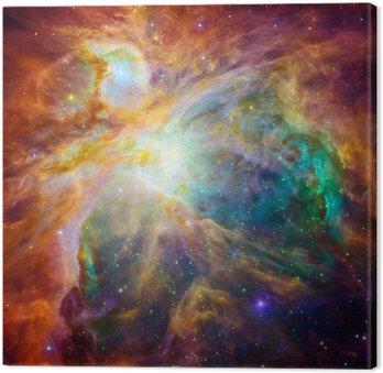 Tableau sur Toile Le nuage cosmique appelé nébuleuse d'Orion