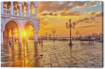 Tableau sur Toile Lever de soleil à Venise