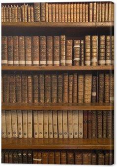Tableau sur Toile Livres dans une bibliothèque