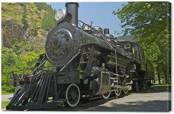 Tableau sur Toile Locomotive vapeur
