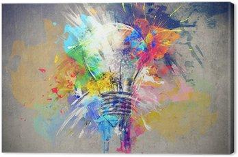 Tableau sur Toile Lumière colorée