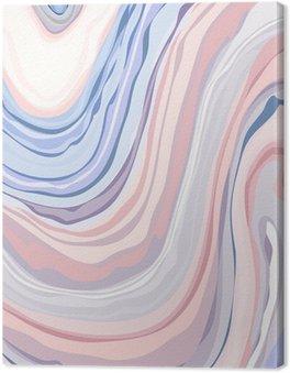Tableau sur Toile Marble Pattern - Abstract Texture avec pastels Couleurs 2016