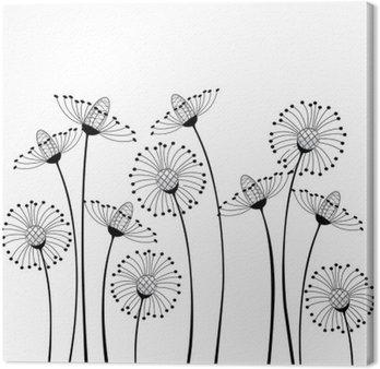 Tableau sur Toile Meadow & fleurs