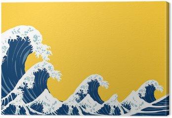 Tableau sur Toile Mer du Japon