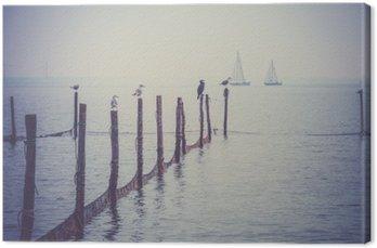 Tableau sur Toile Mer du Nord paysage