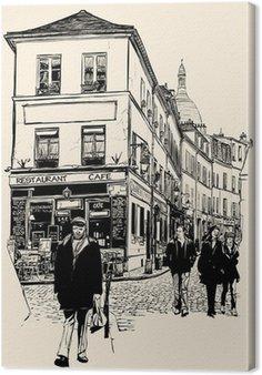Tableau sur Toile Montmartre, Paris