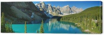 Tableau sur Toile Moraine Lake, le parc national Banff