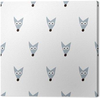 tableaux sur toile renards pixers nous vivons pour. Black Bedroom Furniture Sets. Home Design Ideas