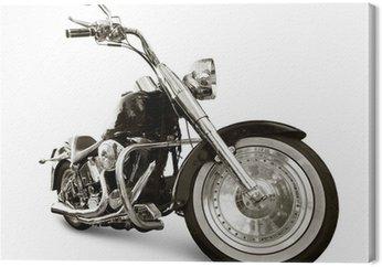 Tableau sur Toile Motocyclette