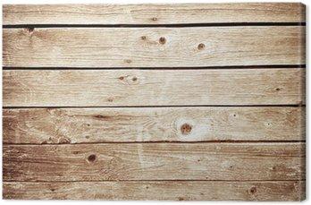 Tableau sur Toile Mur de bois