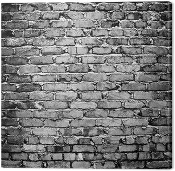 Tableau sur Toile Mur de briques rugueux