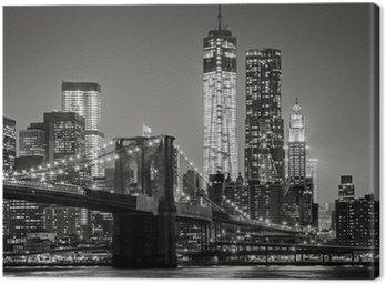 Tableaux sur toile arts martiaux pixers nous vivons - Toile pont de brooklyn ...