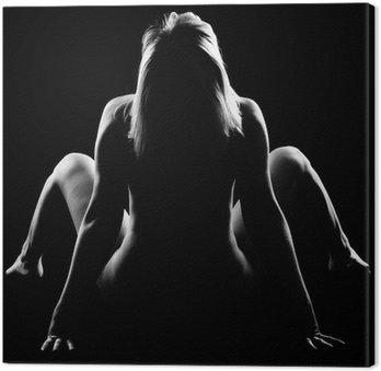 Tableau sur Toile Nude girl