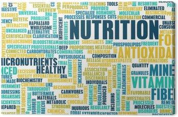 Tableau sur Toile Nutrition
