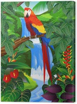 Tableau sur Toile Oiseaux tropicaux